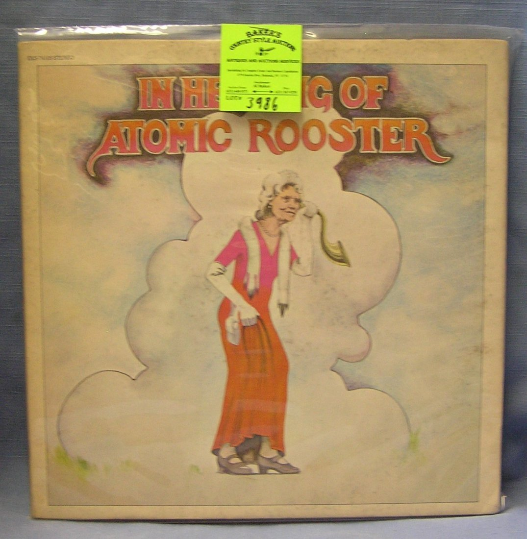 Vintage Atomic Rooster record album