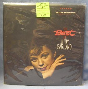 Vintage Judy Garland Two Record Album Set