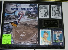Vintage Yankees Stadium Wall Plaque