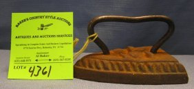 Miniature Cast Iron Clothes Iron