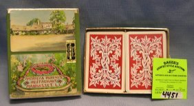 Two Decks Of Vintage Playing Cards