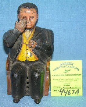 Vintage Boss Tweed Tammany Hall Bank