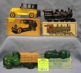 Avon Automotive And Transportational Decanters