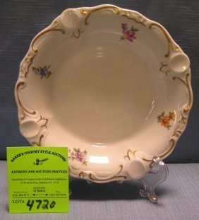 Early Floral Decorated Porcelain Bowl