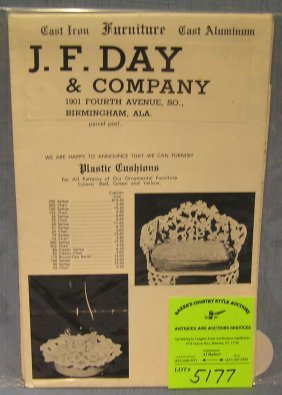 J.f. Day And Company Vintage Wholesaler's Catalog