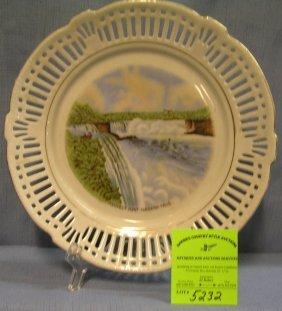 Souvenir Plate From Prospect Point Niagara Falls