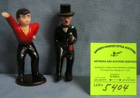 Pair Of Vintage Toy Figures