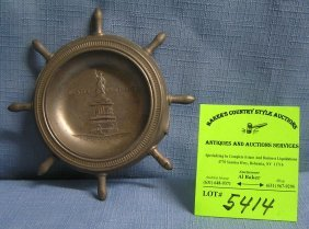 Statue Of Liberty Dish Made In Occupied Japan