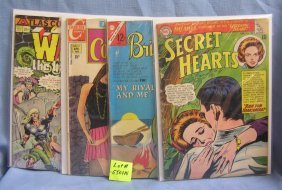 Group Of Four Early Comic Books