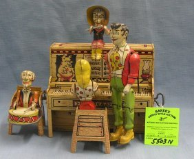 Little Abner And His Dog Patch Four Band Toy