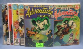 Weird Adventures And Super Hero Comic Books