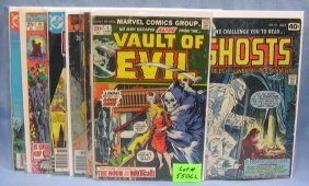 Group Of Early Ghostly And Horror Comic Books
