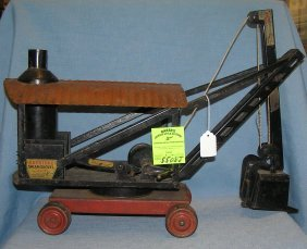 Antique Keystone Pressed Steel Steam Shovel