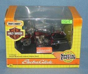 Vintage Harley Davidson Motor Cycle