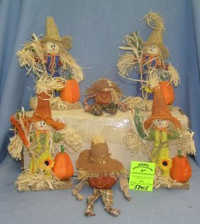 Pumpkin And Scarecrow Decorations