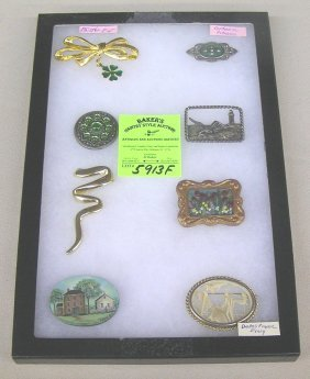 Collection Of Quality Costume Jewelry Pins And Brooches