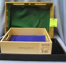 Group Of Three Quality Jewelry Sorting And Storage