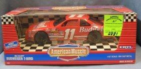 All Cast Metal Bill Eliot Budweiser T-bird Race Car