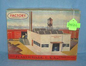 Plasticville Mfg. Co. Factory Dated 1952