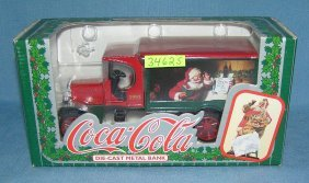 Vintage Coca Cola Delivery Truck Bank