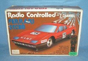 Vintage Ferrari Radio Controlled Auto
