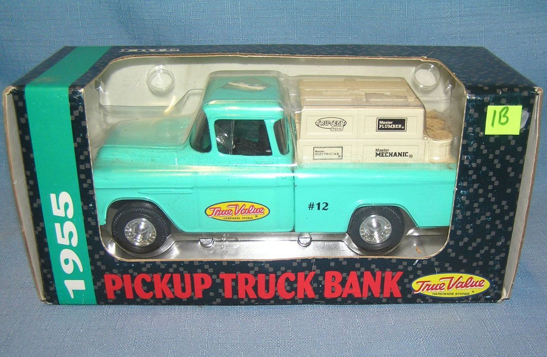True Value hardware stores pick up truck bank