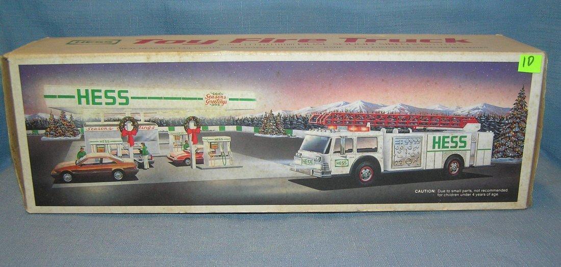 HESS toy fire truck