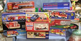 Vintage Gas And Oil Company Toy Trucks