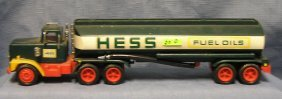 Early Hess Toy Tanker Truck