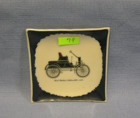 Packard Horseless Carriage Automobile Dish