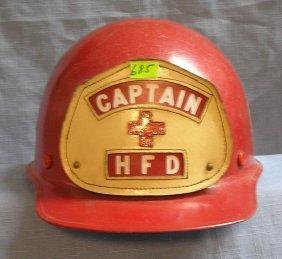 Huntington Fire Department Captain's Helmet