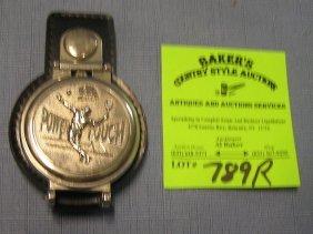 Vintage Tennis Themed Pocket Watch