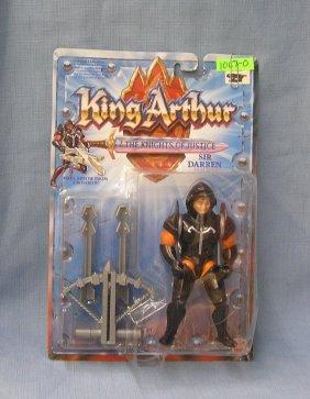 Vintage King Arthur Sir Darren Figure