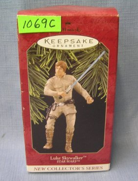 Star Wars Luke Sky Walker Hallmark Ornament