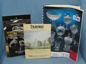 Original Crystal And Hand Cut Glass Catalogs