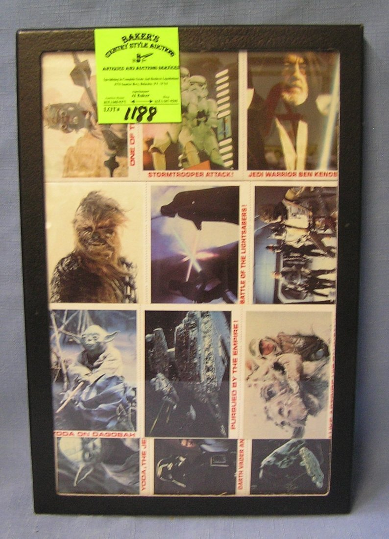 Early Star Wars non sports cards