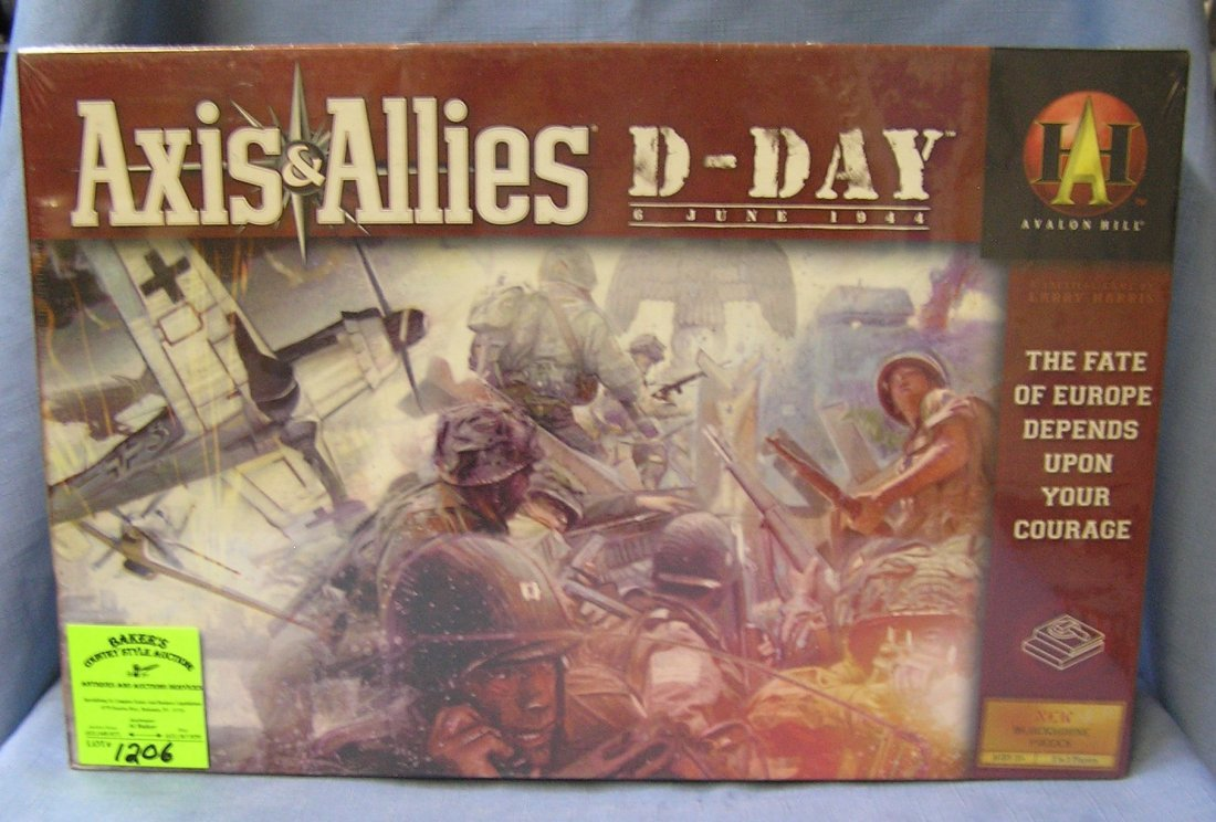 Axis and allies D-day game