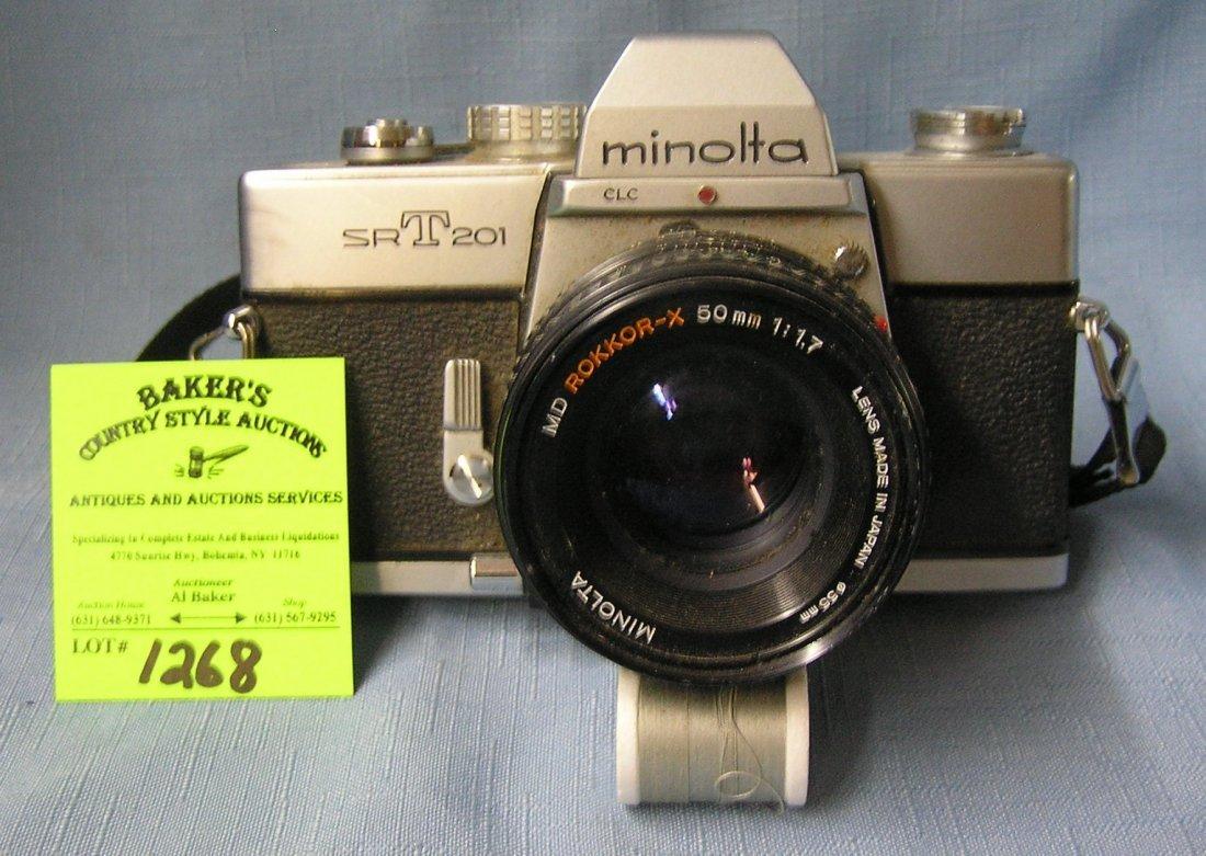 Vintage Minolta SRT201 camera