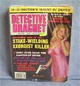 Collection of vintage detective magazines