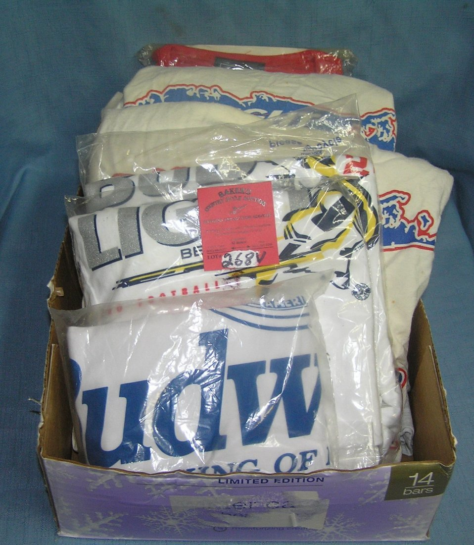 Budweiser and beer tee shirts and clothing