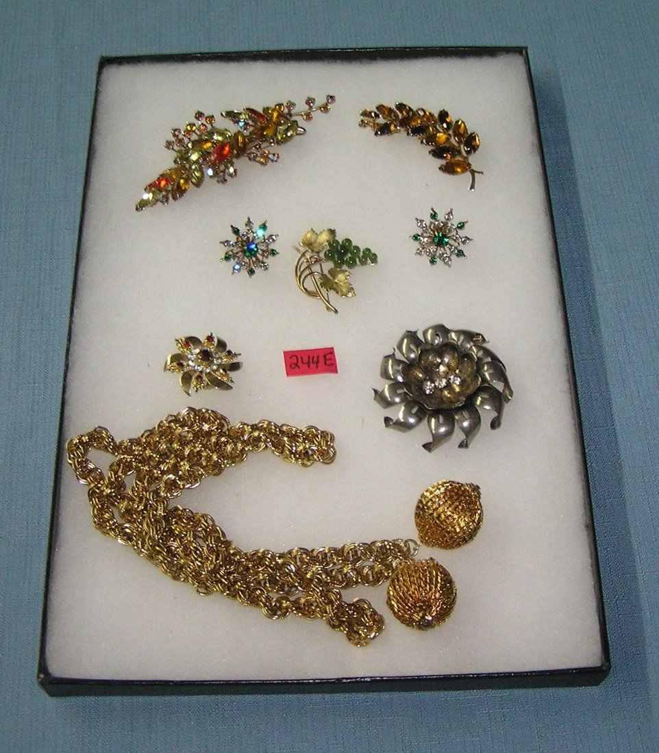 Collection of high quality costume jewelry