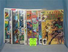 Group of vintage Marvel comic books and more