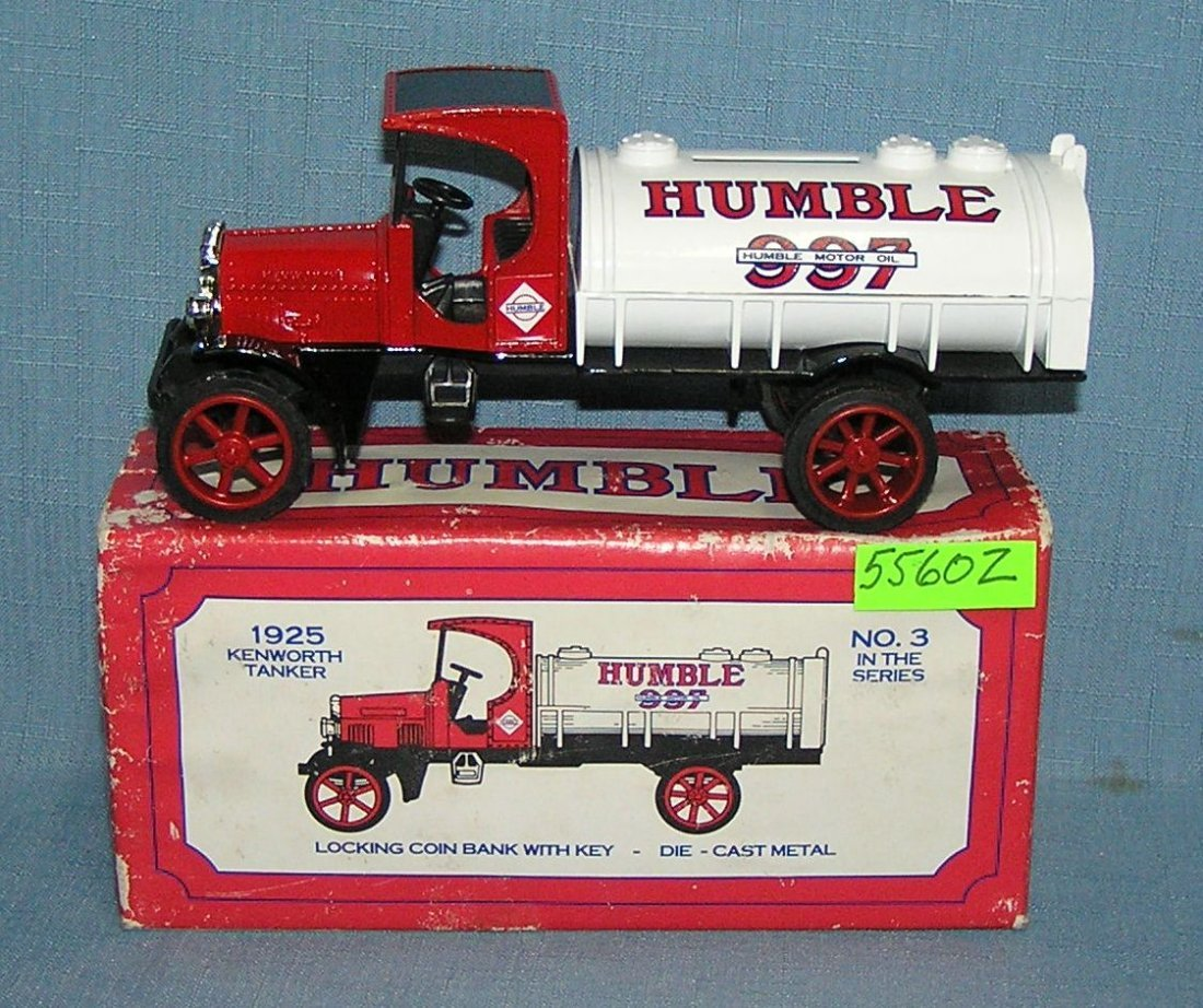 1925 Humble tanker truck bank