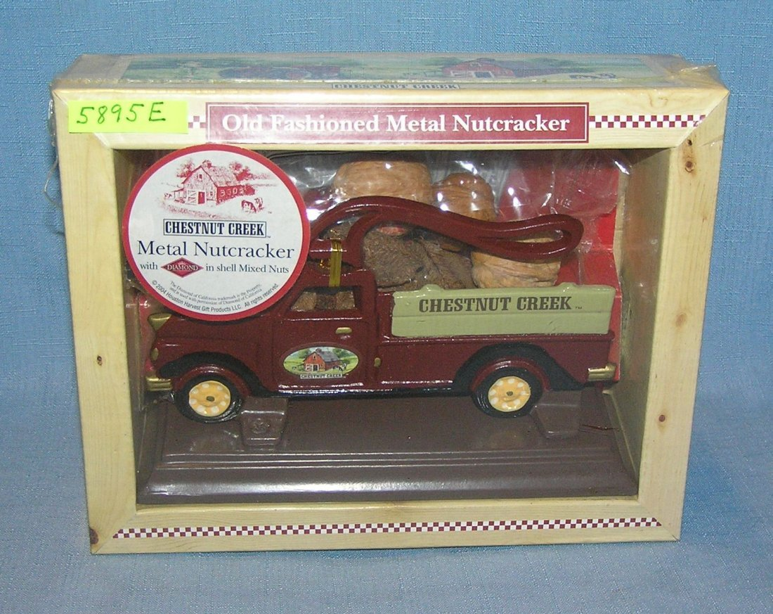Cast iron limited edition nutcracker delivery truck