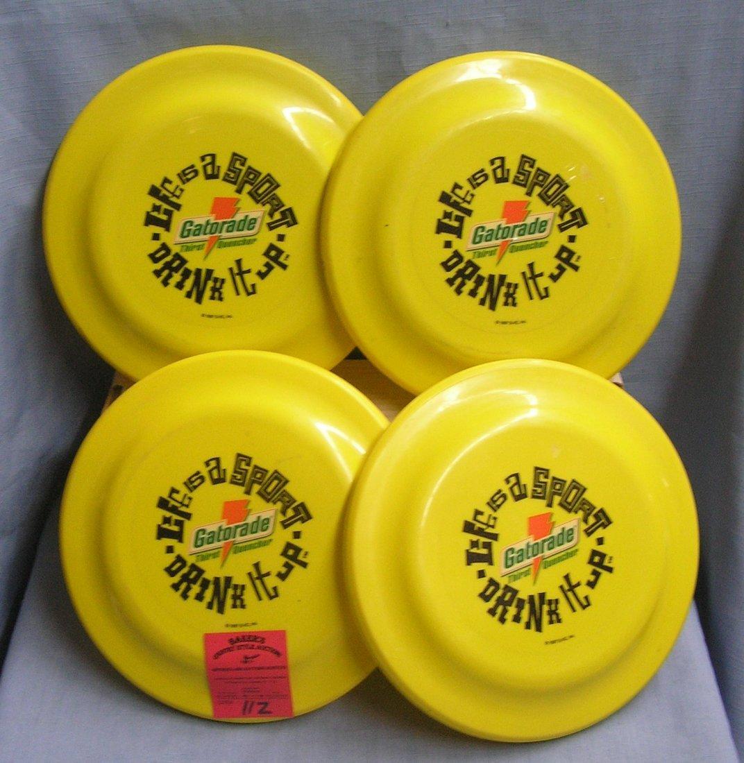 Vintage Gatorade advertising Frisbees