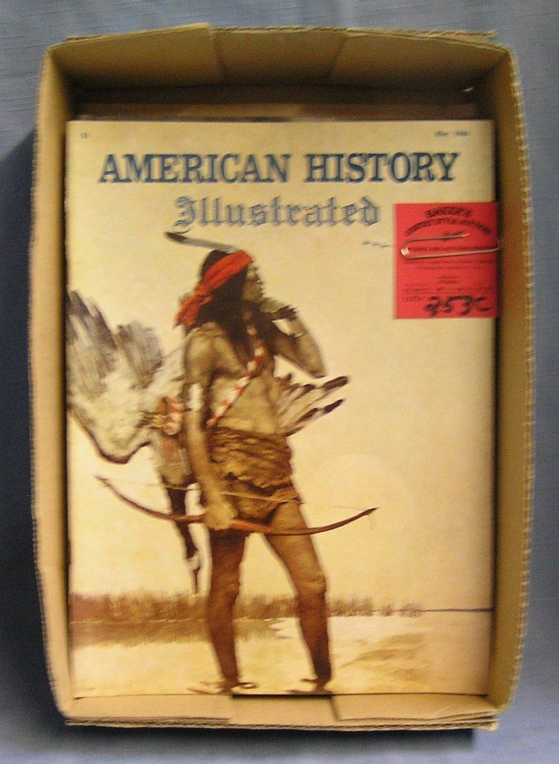American History Illustrated magazines