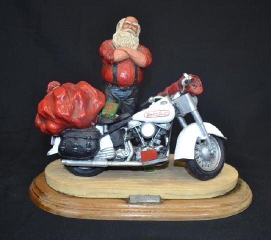 Harley Davidson 'Santa's Sled'  No. 0399, Signed Harley