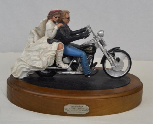 Harley  Davidson 'Just Hitched'.  No. 243/1500 1995