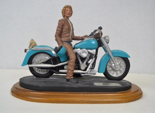 Harley Davidson 'Iron & Lace' Signed Harley Davidson