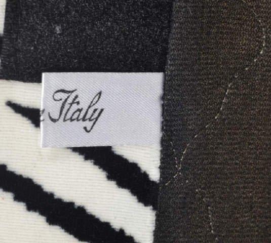 Zebra Print Roche Bobies Swivel Chair From Italy Zebra - 3